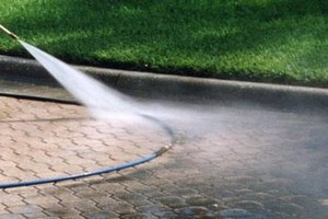 Photo #5: PRESSURE CLEAN the outside of your HOME, OFFICE, Deck, Windows