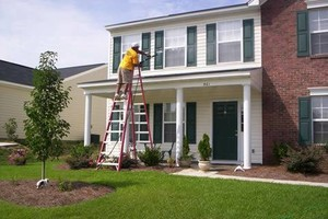 Photo #1: PRESSURE CLEAN the outside of your HOME, OFFICE, Deck, Windows