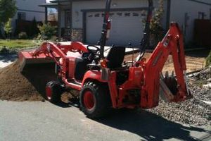 Photo #16: TRACTOR/DUMP TRUCK FOR HIRE REASONABLE RATES
