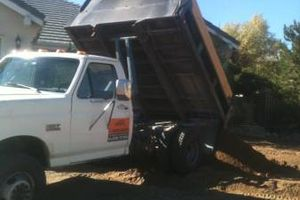 Photo #13: TRACTOR/DUMP TRUCK FOR HIRE REASONABLE RATES