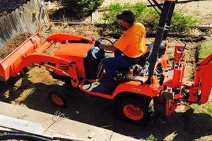 Photo #10: TRACTOR/DUMP TRUCK FOR HIRE REASONABLE RATES