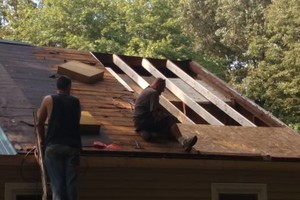 Photo #1: All Action Roofing Home imp