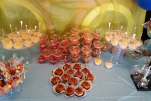Photo #2: Mini Postresitos! Shots of desserts, table snacks,,,