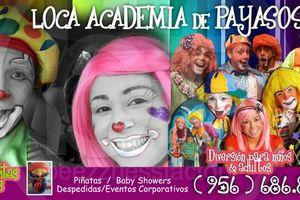 Photo #1: Loca Academia De Payasos RGV. Payasos! Clowns! from $140.00 2hours