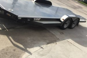 Photo #1: Trailer/hauler for Rent w/Ramps & Winch