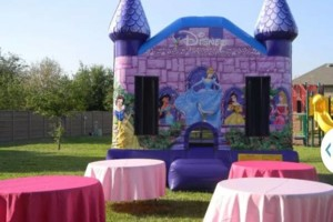 Photo #7: Moon Jumps, Water Slides, Tents, Tables, Chairs, Chocolate fountains