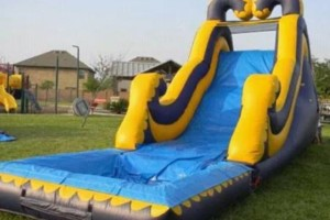 Photo #6: Moon Jumps, Water Slides, Tents, Tables, Chairs, Chocolate fountains