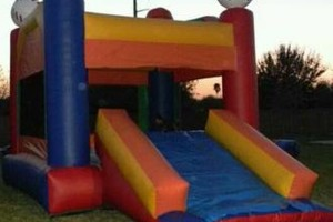 Photo #5: Moon Jumps, Water Slides, Tents, Tables, Chairs, Chocolate fountains