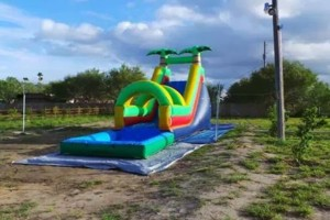 Photo #3: Moon Jumps, Water Slides, Tents, Tables, Chairs, Chocolate fountains