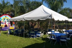 Photo #1: Moon Jumps, Water Slides, Tents, Tables, Chairs, Chocolate fountains