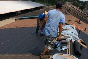 Photo #2: Roofing with warranty u diserve!
