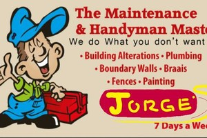 Photo #1: Jorge'S Handy And Comercial Works Co.