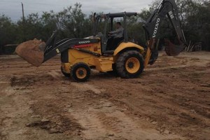 Photo #1: Backhoe Service - Tree removal/Demolition/...