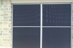 Photo #2: Shutter and solar screens
