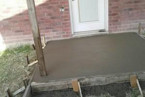 Photo #5: CONSTRUCTION. Brick/block/stucco/driveway