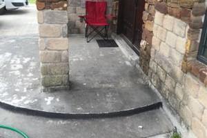 Photo #4: Ground Floor Window Cleaning +power wash Driveways