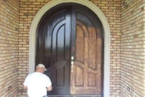 Photo #12: Restoring Front doors