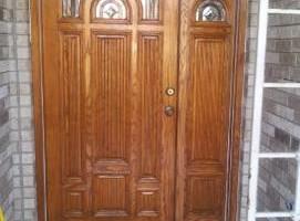 Photo #5: Restoring Front doors