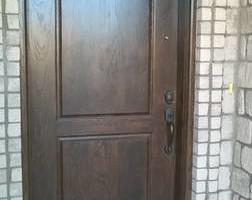 Photo #2: Restoring Front doors