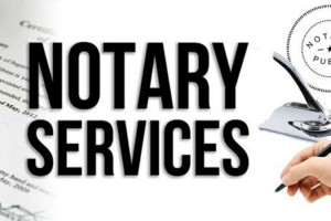 Photo #1: Notary Public Services (+Permanent Resident Card)