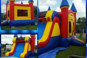 Photo #6: Round tables, Waterslide, moonjumps, get ready for Your Party