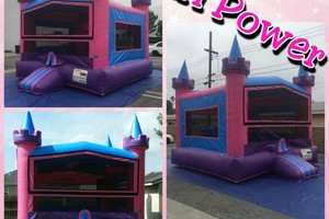 Photo #5: Round tables, Waterslide, moonjumps, get ready for Your Party