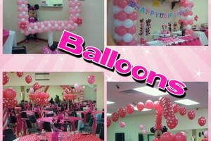 Photo #3: Round tables, Waterslide, moonjumps, get ready for Your Party