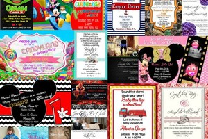 Photo #1: Invitations for your event! 50 for $35