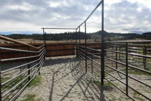Photo #3: Crazy Mountain Fabrication. Fencing/Corrals Installation