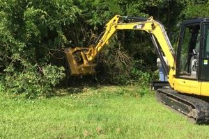 Photo #7: Excavator with Mulching Head