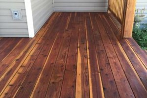 Photo #16: King of Stain - Fence / Deck Staining