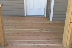 Photo #14: King of Stain - Fence / Deck Staining