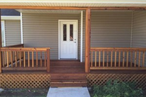Photo #13: King of Stain - Fence / Deck Staining