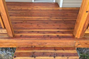 Photo #12: King of Stain - Fence / Deck Staining