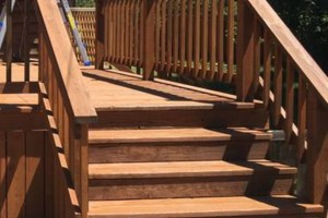 Photo #11: King of Stain - Fence / Deck Staining