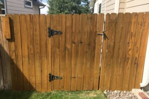 Photo #4: King of Stain - Fence / Deck Staining