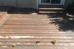 Photo #3: King of Stain - Fence / Deck Staining