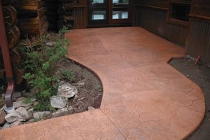 Photo #3: Frontier Concrete - Decorative Concrete Overlays & Custom flatwork