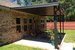 Photo #4: SEAMLESS GUTTERS AND PATIOS