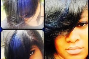 Photo #1: Whip Lash Salon. Hair color (1360 Powers Ferry)