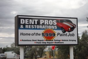 Photo #1: Dent Pros and restorations. $999.00 AUTO Paint Job