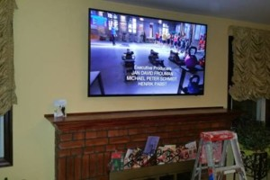 Photo #1: Same Day Skilled TV Installation on Wall