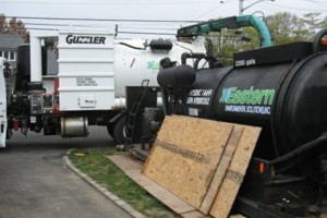 Photo #8: Cesspool Service, Excavation, Well Drilling, Sewer Drain Pumping