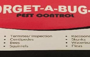 Photo #1: LOW PRICE EXTERMINATOR - FORGET-A-BUG-IT PEST CONTROL