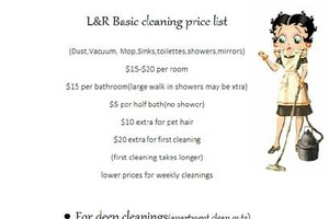 Photo #1: L&R CLEANING SERVICE (Residential, Commercial, Vacation Rentals)