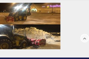 Photo #1: Snow Plowing and Removal Services by Braz Construction