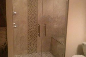 Photo #1: Glass Shower Doors Company & Contractor. Home Value Glass.