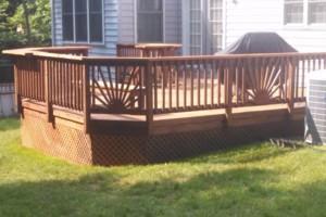 Photo #1: A1 deck restoration handyman services