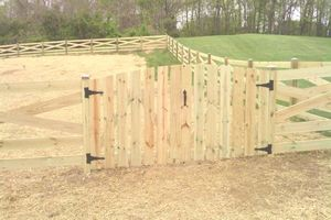 Photo #1: New Fence Installation