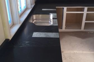 Photo #1: Marble and granite countertops
